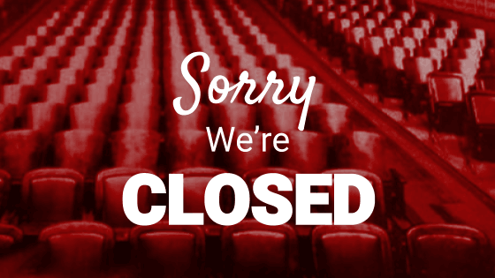 Cinemas Will Remain Closed
